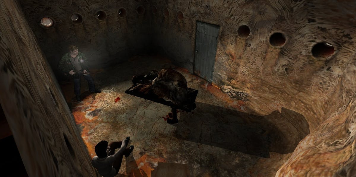 Not everything in the 'Silent Hill' games is symbolic, but a whole lot is.