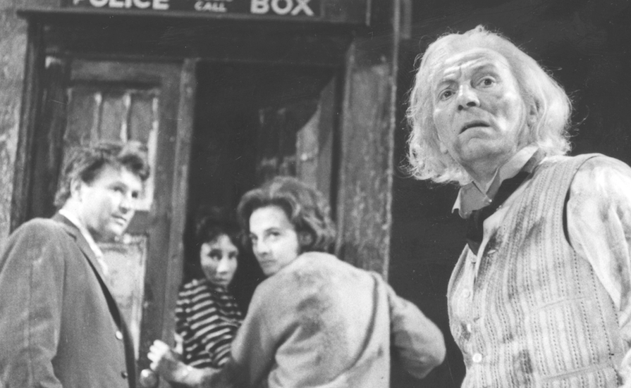 William Hartnell as the 1st Doctor.