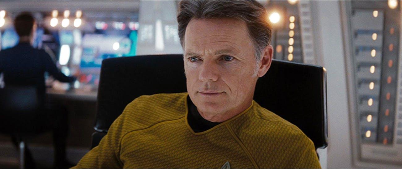 Bruce Greenwood as Captain Pike in 'Star Trek' (2009 reboot)