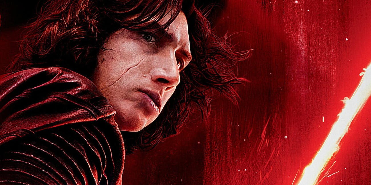 Kylo Ren in 'The Last Jedi'