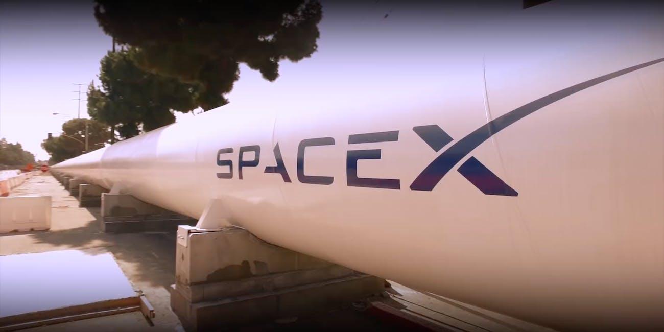 SpaceX Hyperloop track