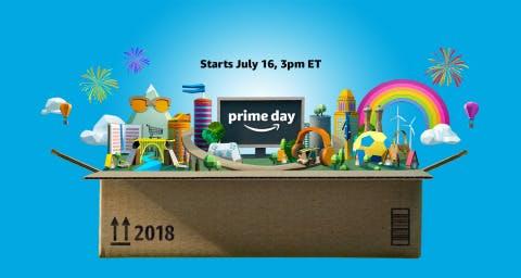 Amazon's Prime Day promo image.