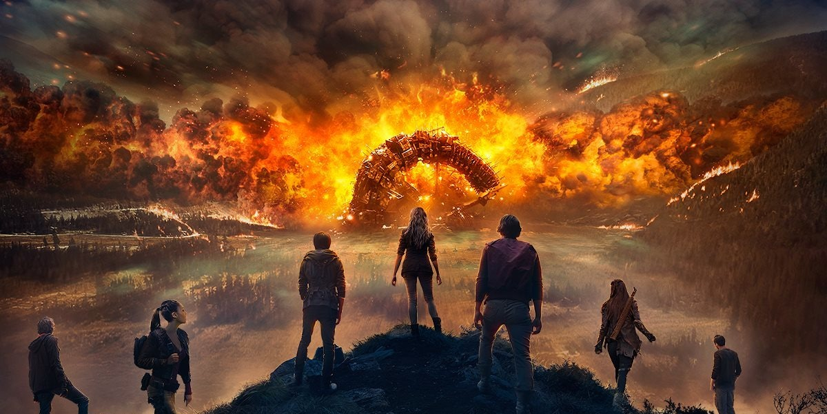 The Delinquents Face Disaster in 'The 100' Season 4 Poster