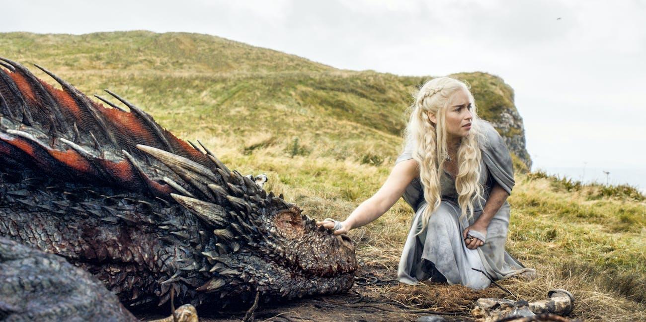 Drogon in Season 5