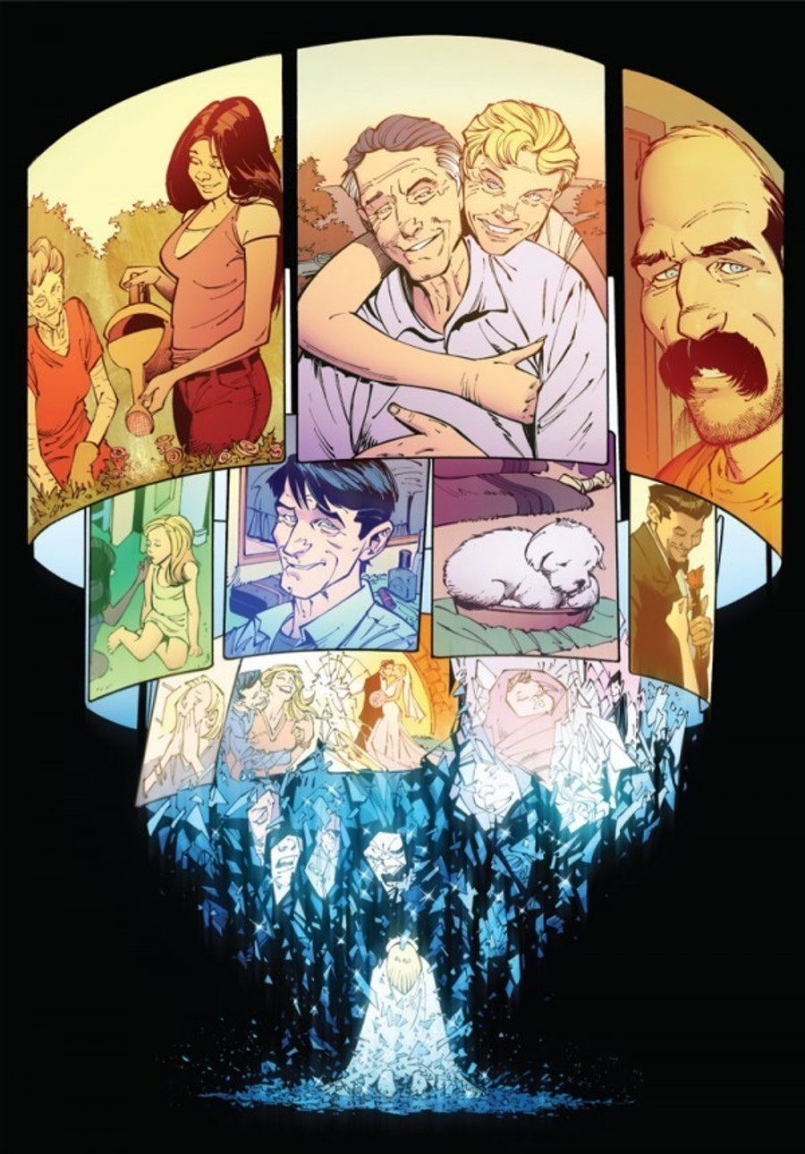Panel in Reborn from Image Comics