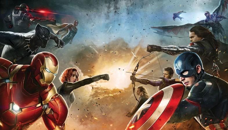 Team Cap and Team Iron Man in 'Captain America: Civil War'