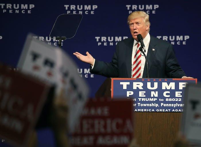 "Nimble America has been using ""meme magic"" to support Donald Trump."