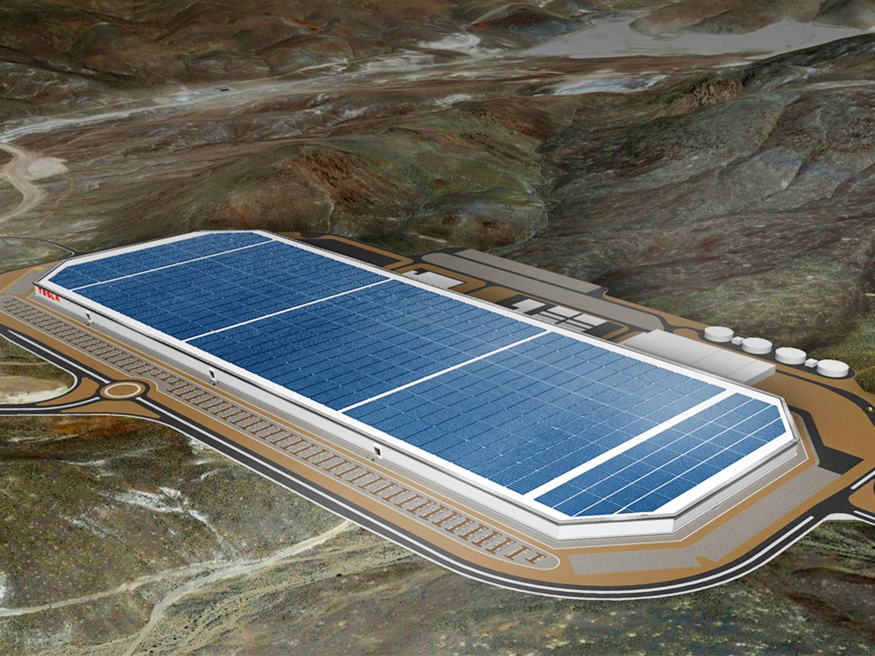 Tesla Doubles Gigafactory Work Ahead of July 29 Grand Opening