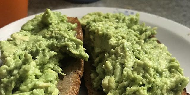 74/365 Having avocado on toast. Does that make me a Millennial?
