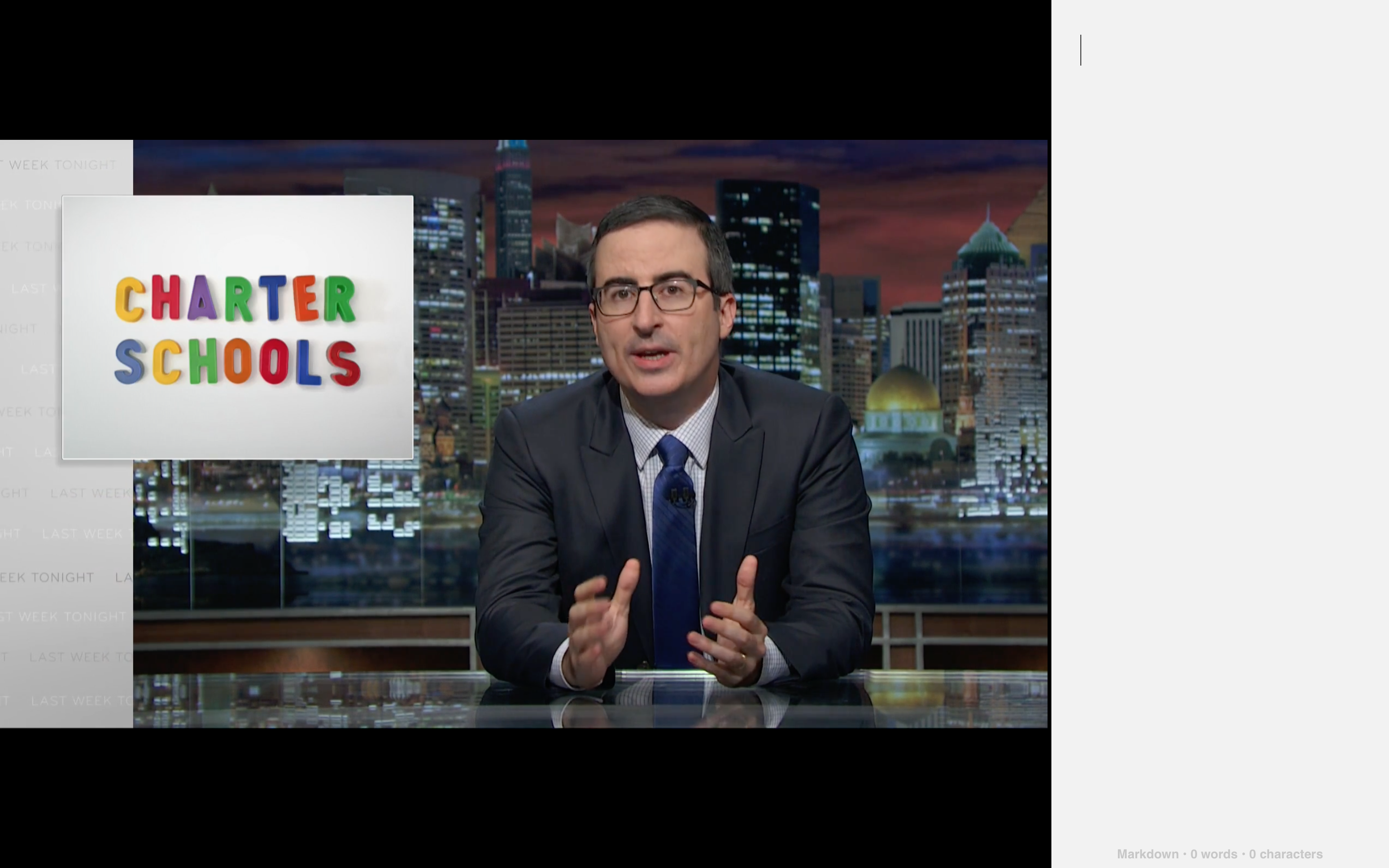 John Oliver to Donald Trump: 'Drop out'