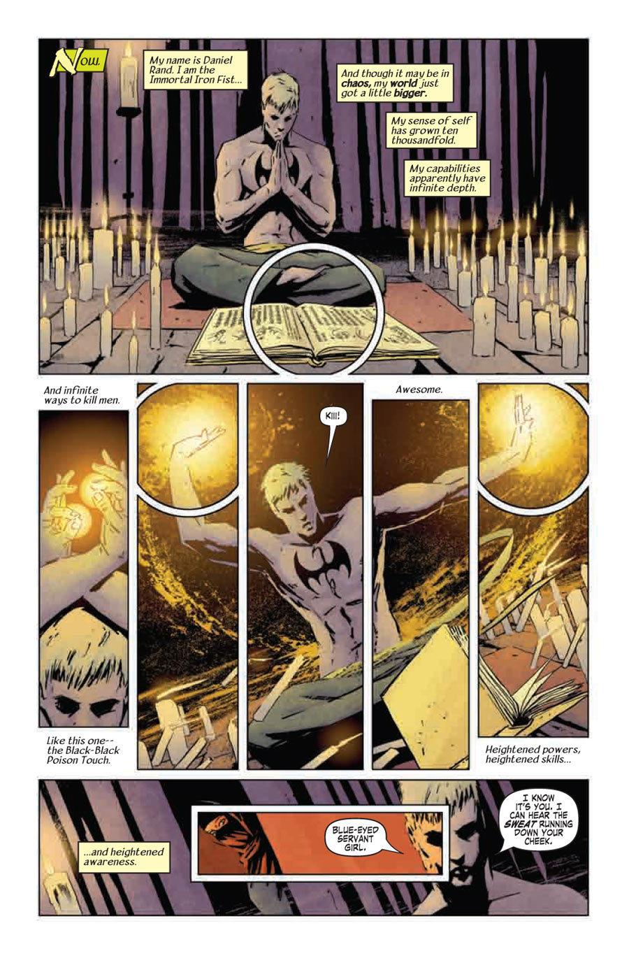 'The Immortal Iron Fist' #9 by Ed Brubaker and Matt Fraction