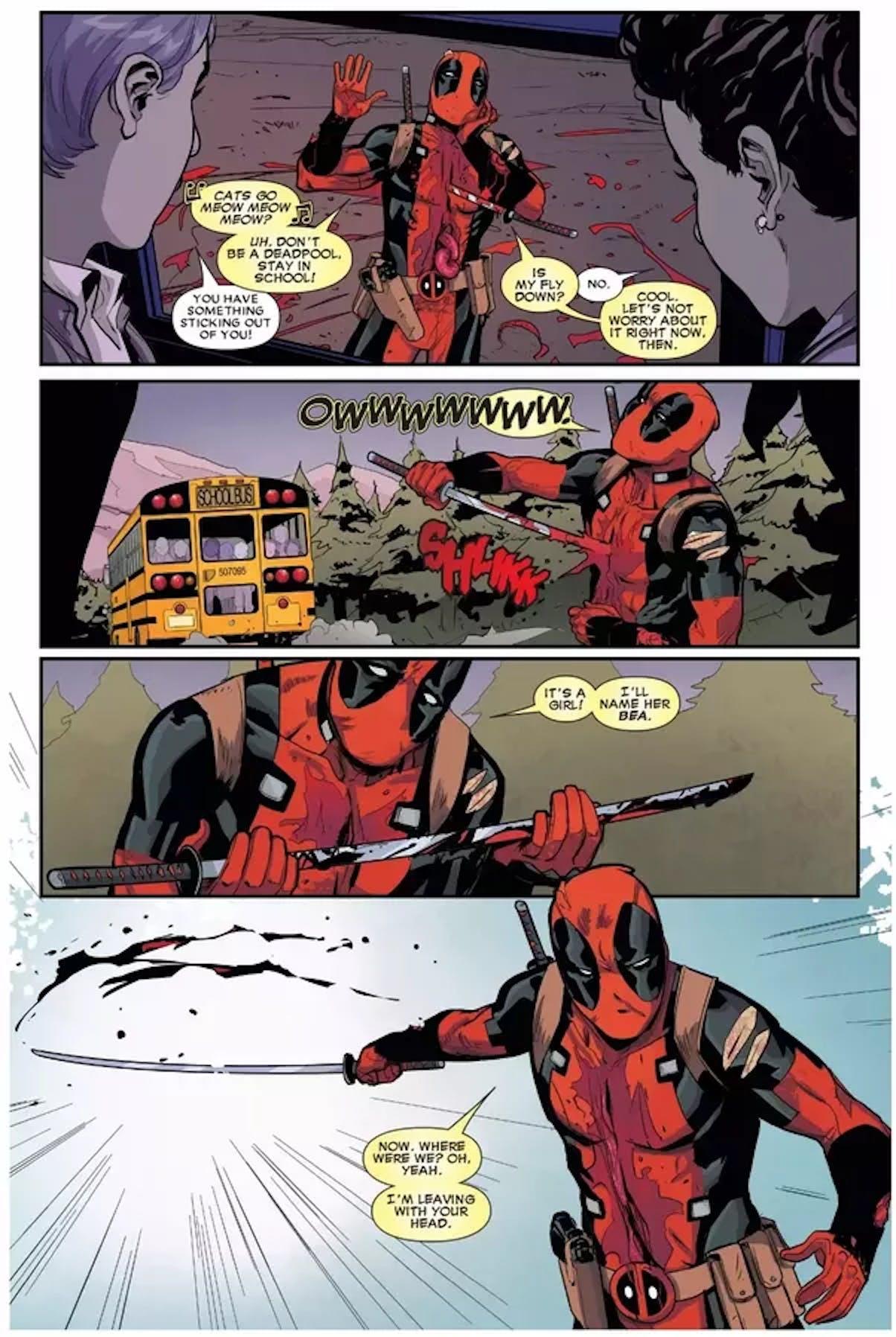 Deadpool Comics Bea Arthur