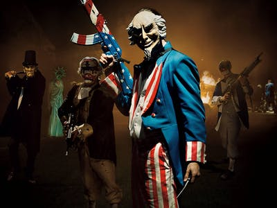 'The Purge: Election Year' Makes A Gruesome Mockery Of Our Divided Political Arena