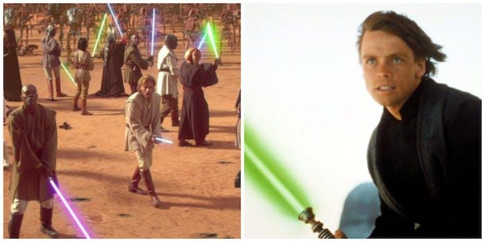 Many Jedi or one Jedi?