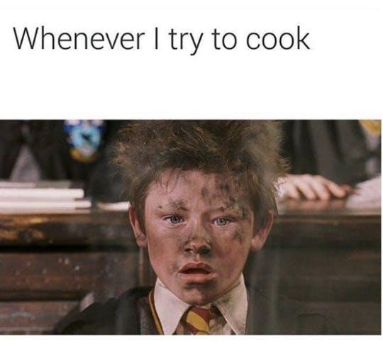 Cooking Water Meme