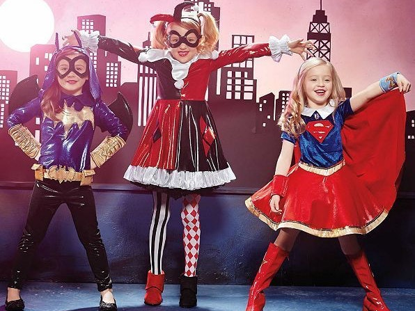 Superhero Halloween Costumes Have Finally Defeated Princesses