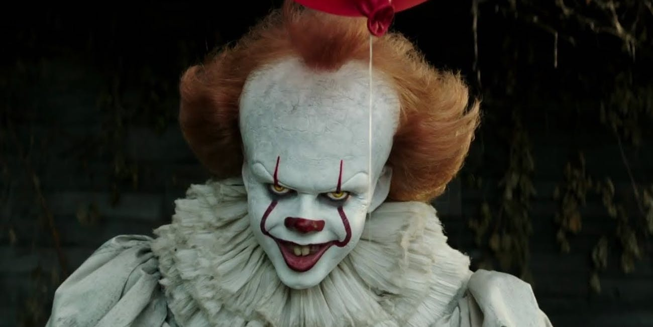 Pennywise is very excited about his box office success.