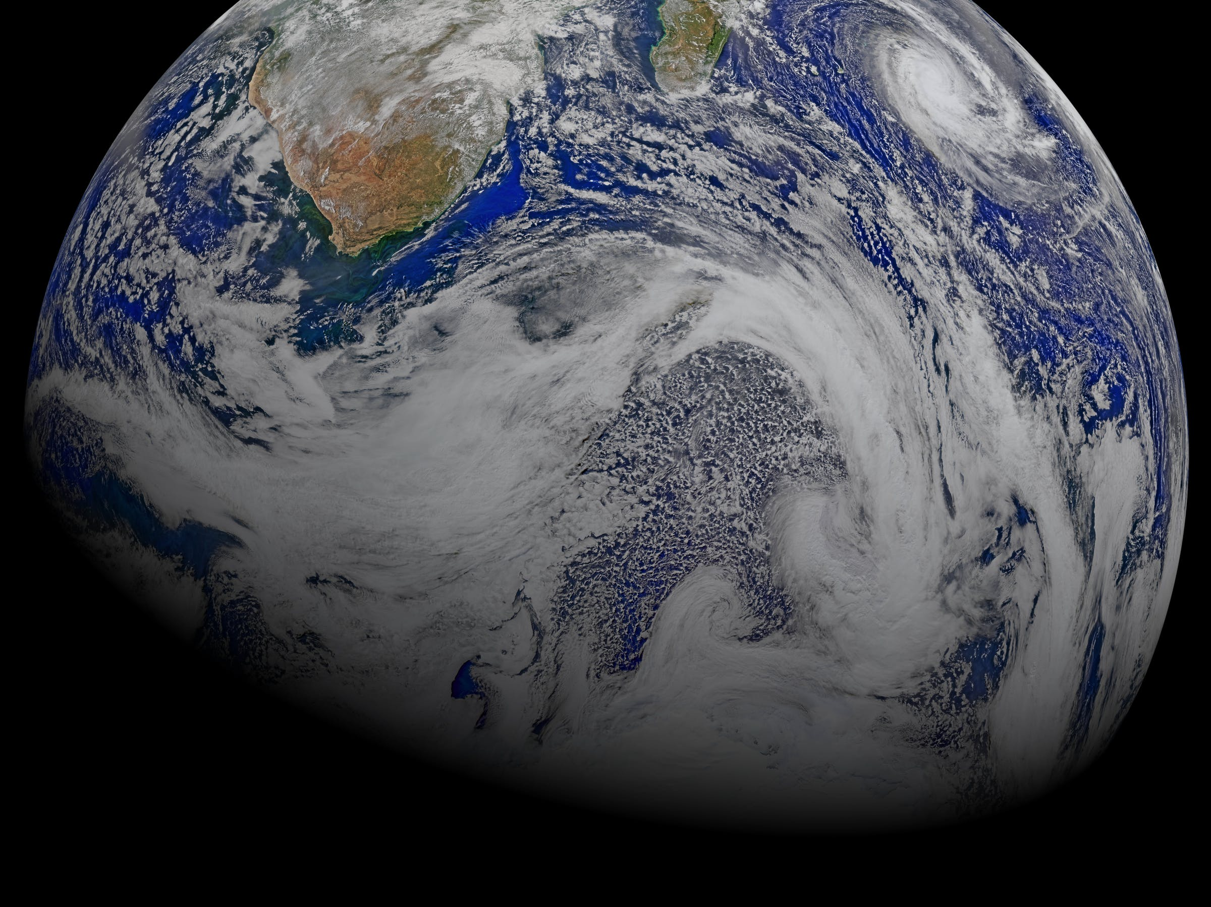 earth from VIIRS April 2015