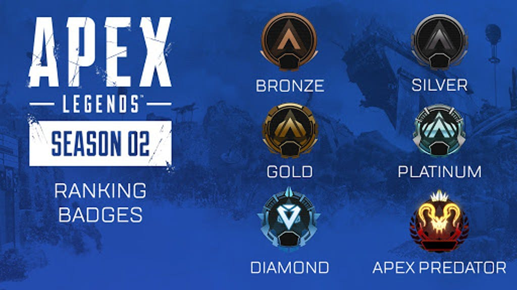 apex legends season 2 ranked leagues tiers