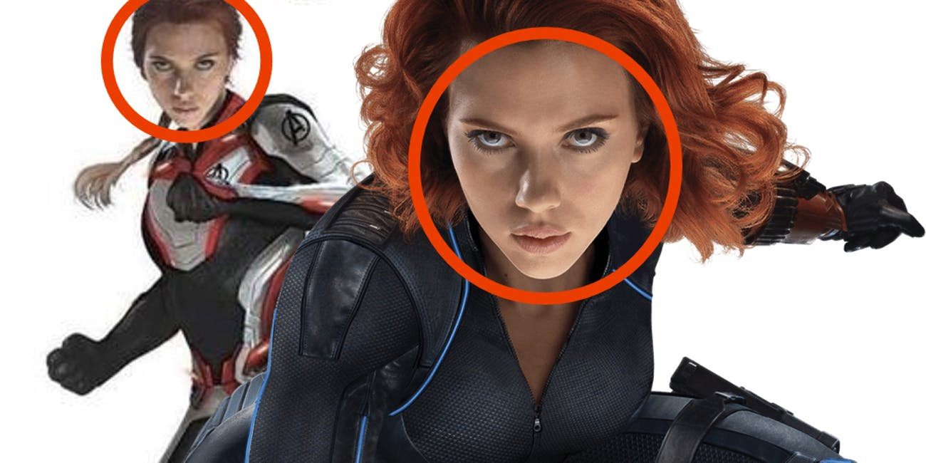 Avengers Endgame Black Widow Costume Play Soon Two