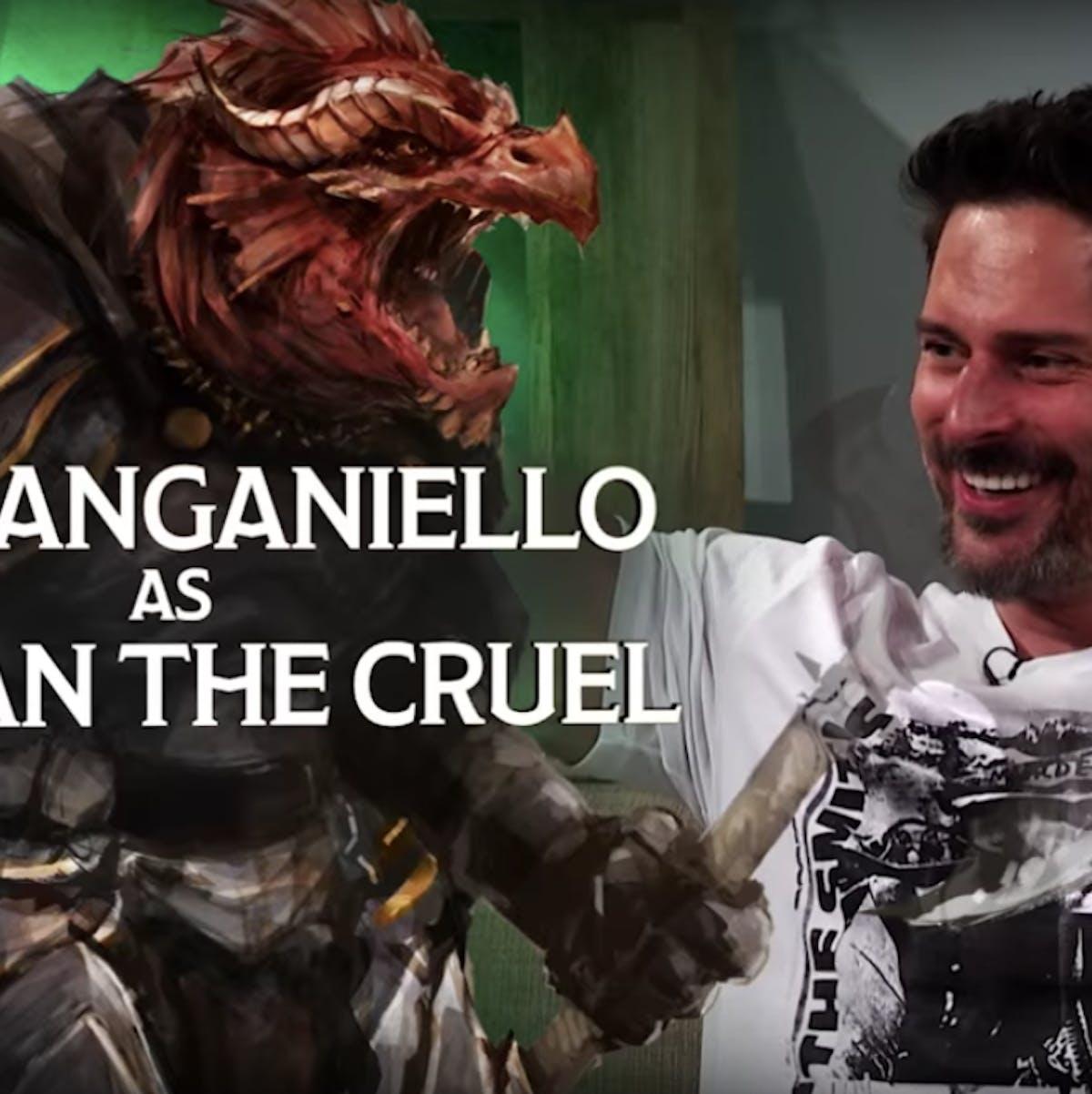"Dungeons & Dragons Had ""Good Reason"" to Add Joe Manganiello's Arkhan as NPC"