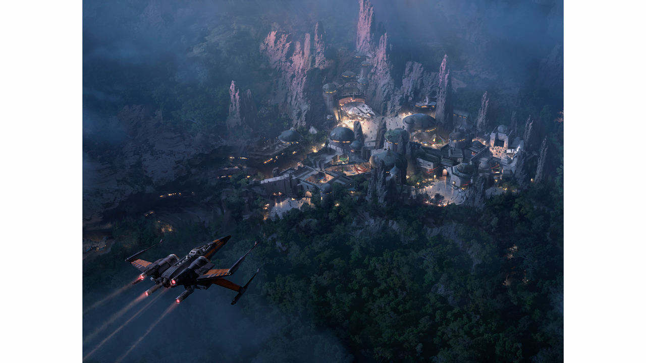 New concept art for 'Star Wars' themed lands at Disney parks