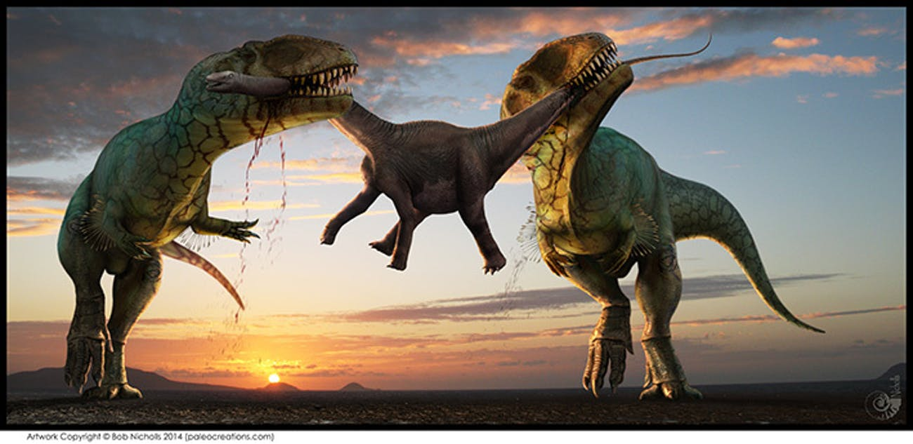 Dinosaur Art Will Become the Violent Heart of Paleontology