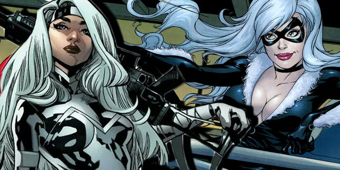 Black Cat Silver Sable