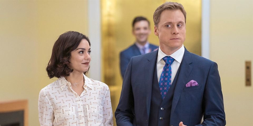 Powerless from NBC and DC starring Vanessa Hudgens and Alan Tudyk