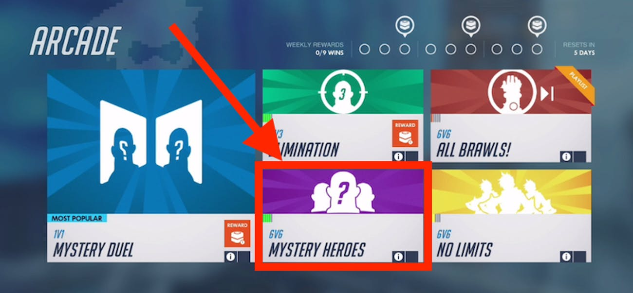 Mystery Heroes is the best place for you to start your 'Overwatch' experience.