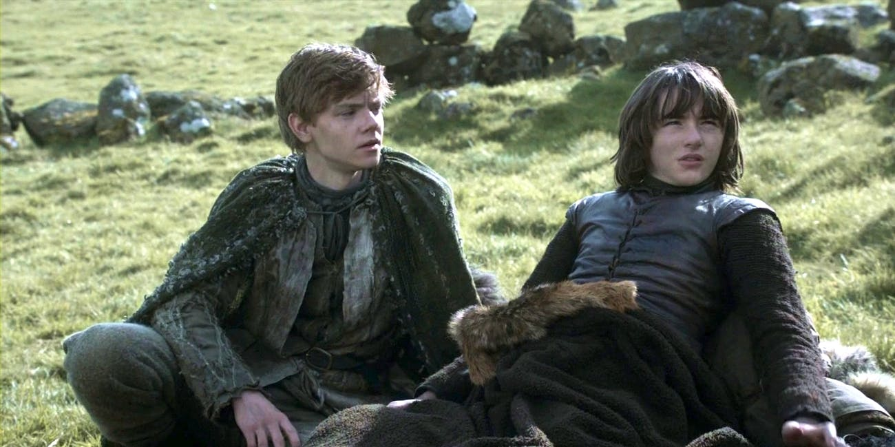 Game of Thrones Jojen and Bran