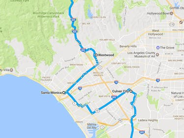 This Map Shows the Tunnel Route of Elon Musk's Boring Company