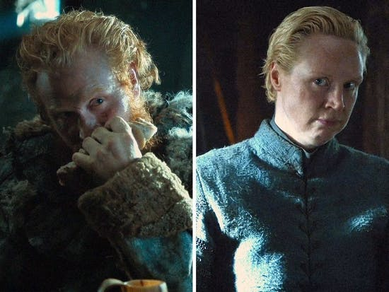 Tormund And Brienne Really Riled Up 'Game of Thrones' Fan Fiction Writers Last Night