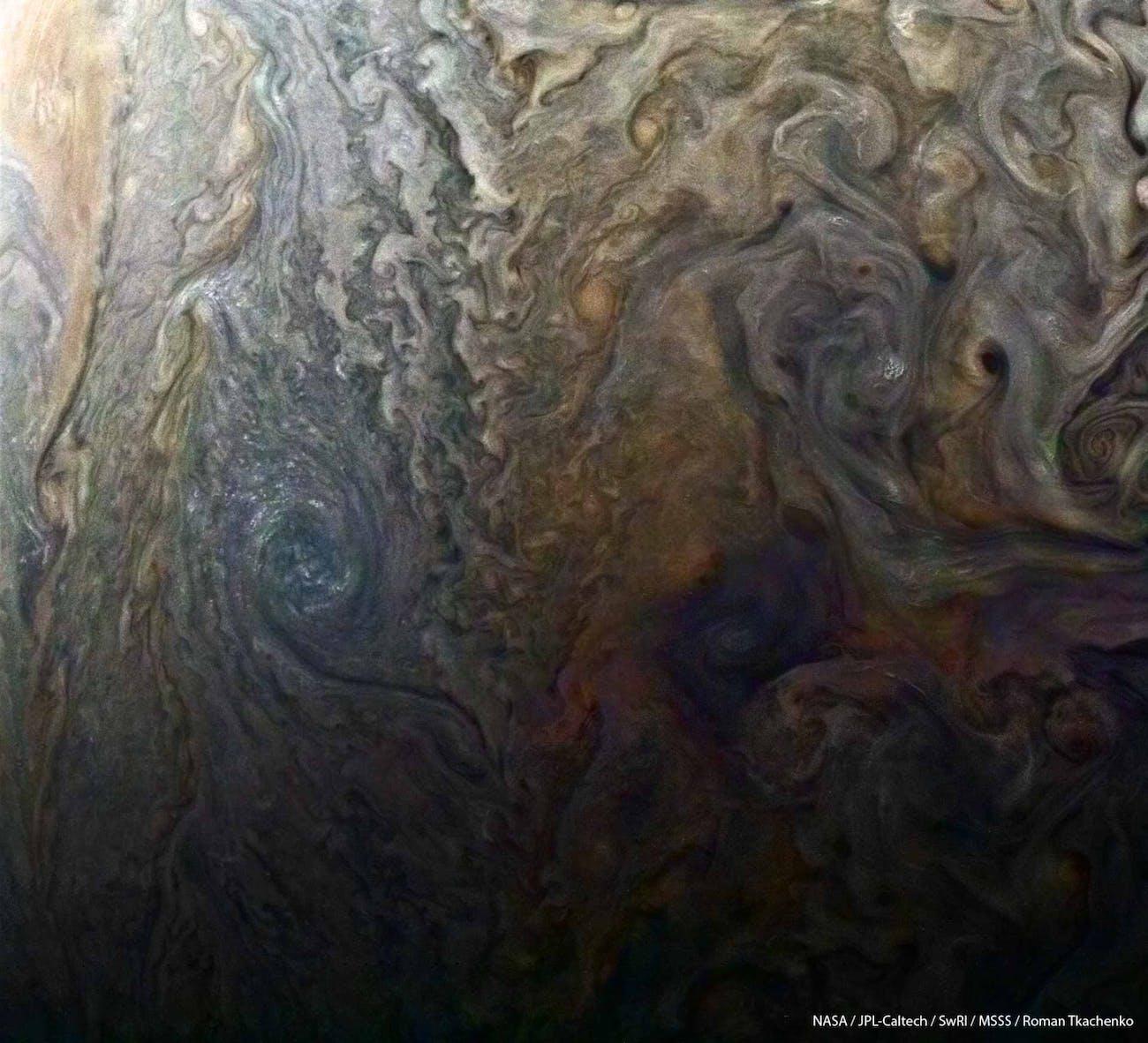 Jupiter NASA Close Flyby