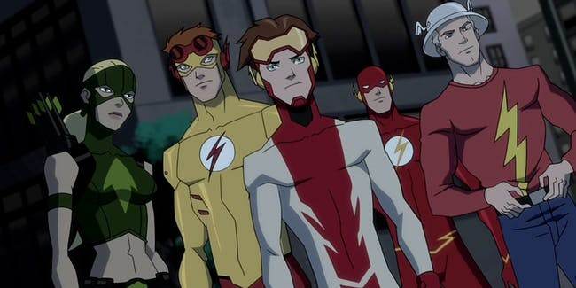 Young Justice Flash Season 3