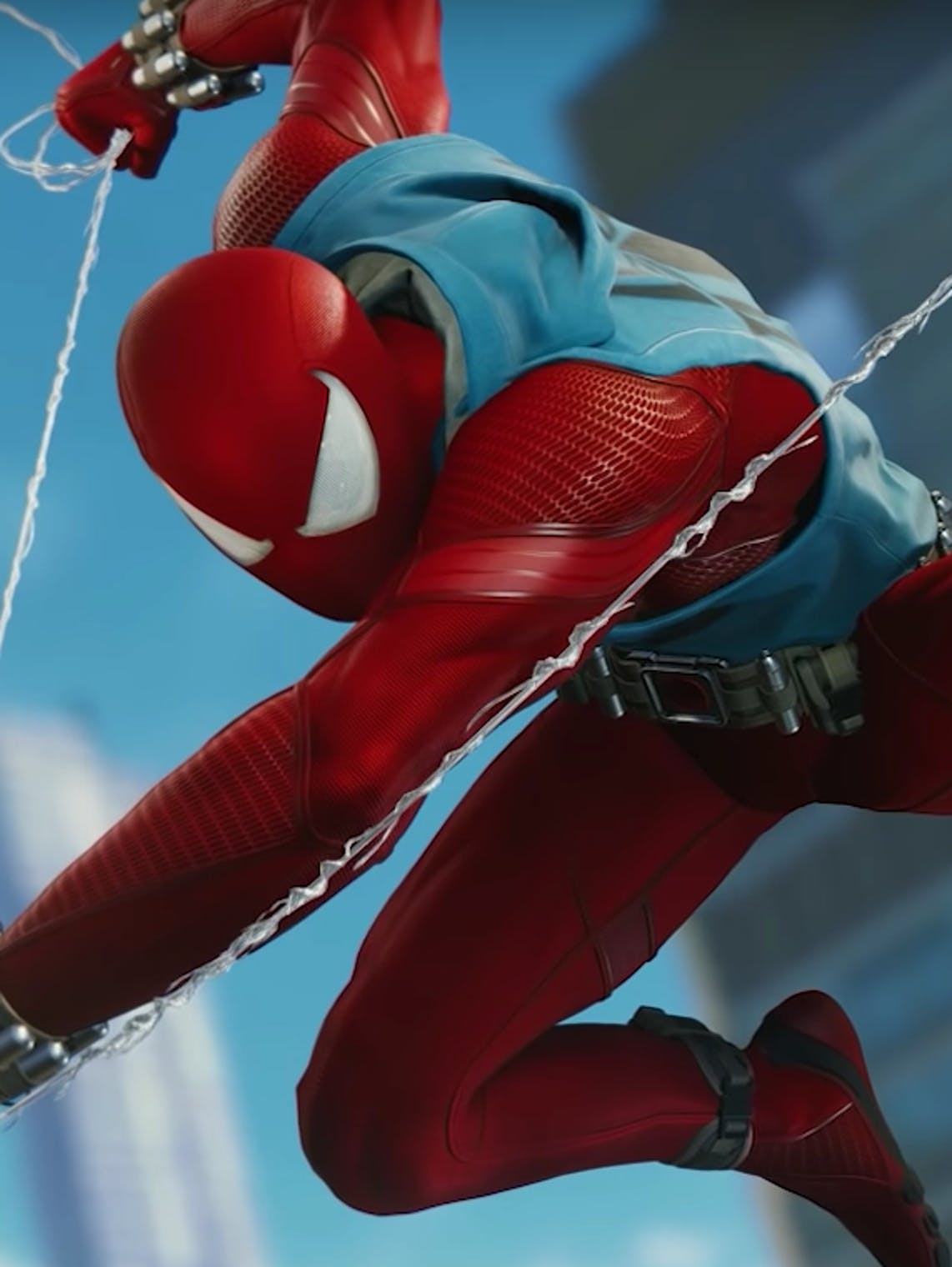 Spider-Man Ben Reilly Clone PS4 Scarlet