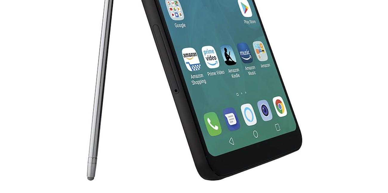 LG Stylo 4 – Unlocked – Aurora Black – Prime Exclusive Phone