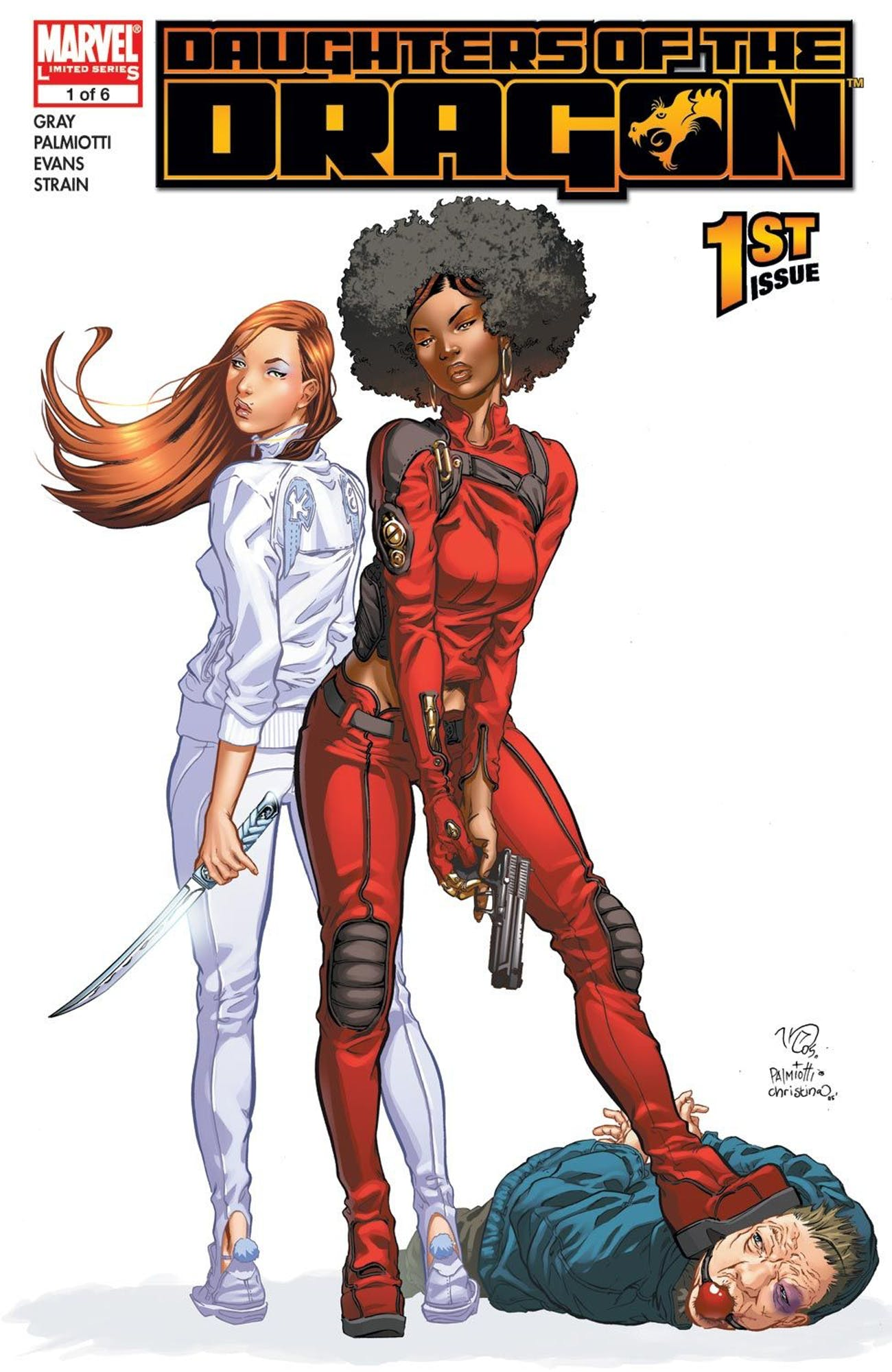 Marvel Daughters of the Dragon