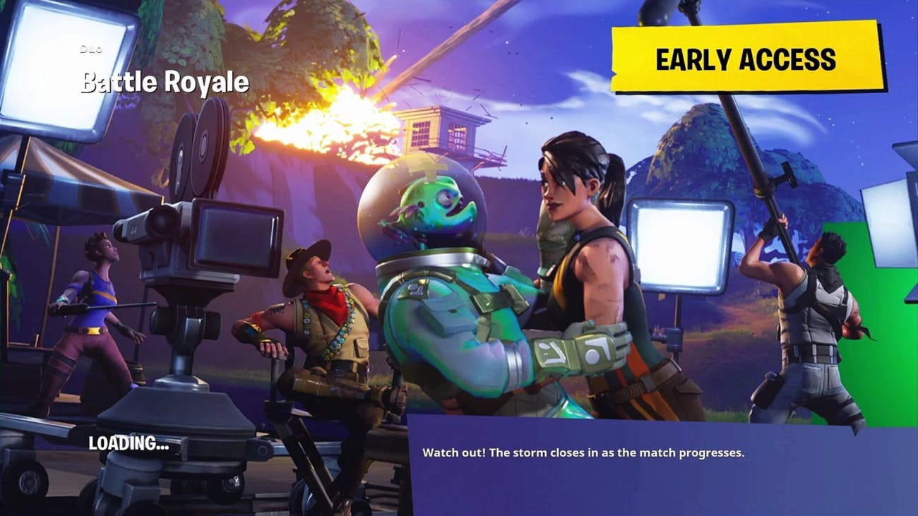 This 'Fortnite' loading screen helps fill in some backstory.