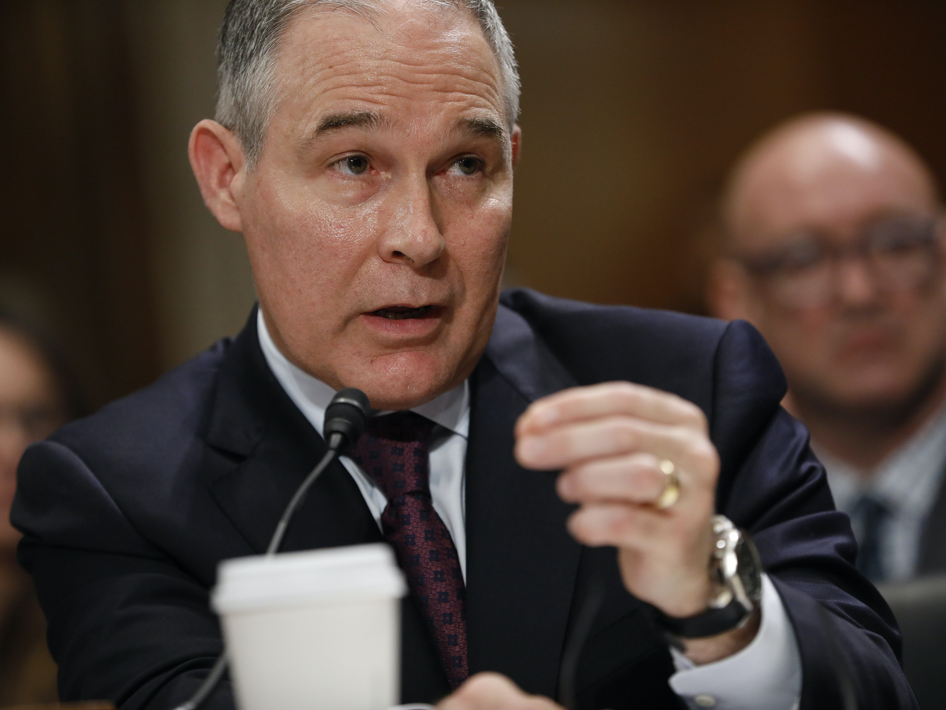 The One Public Health Problem Scott Pruitt Should Fix Came Up Today