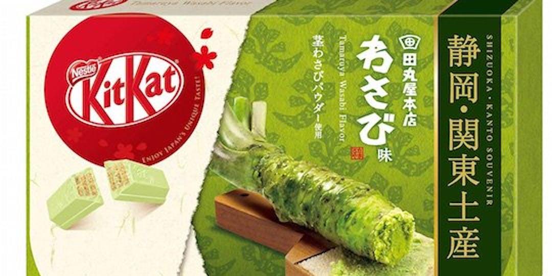 Kit-Kat Wasabi Flavor