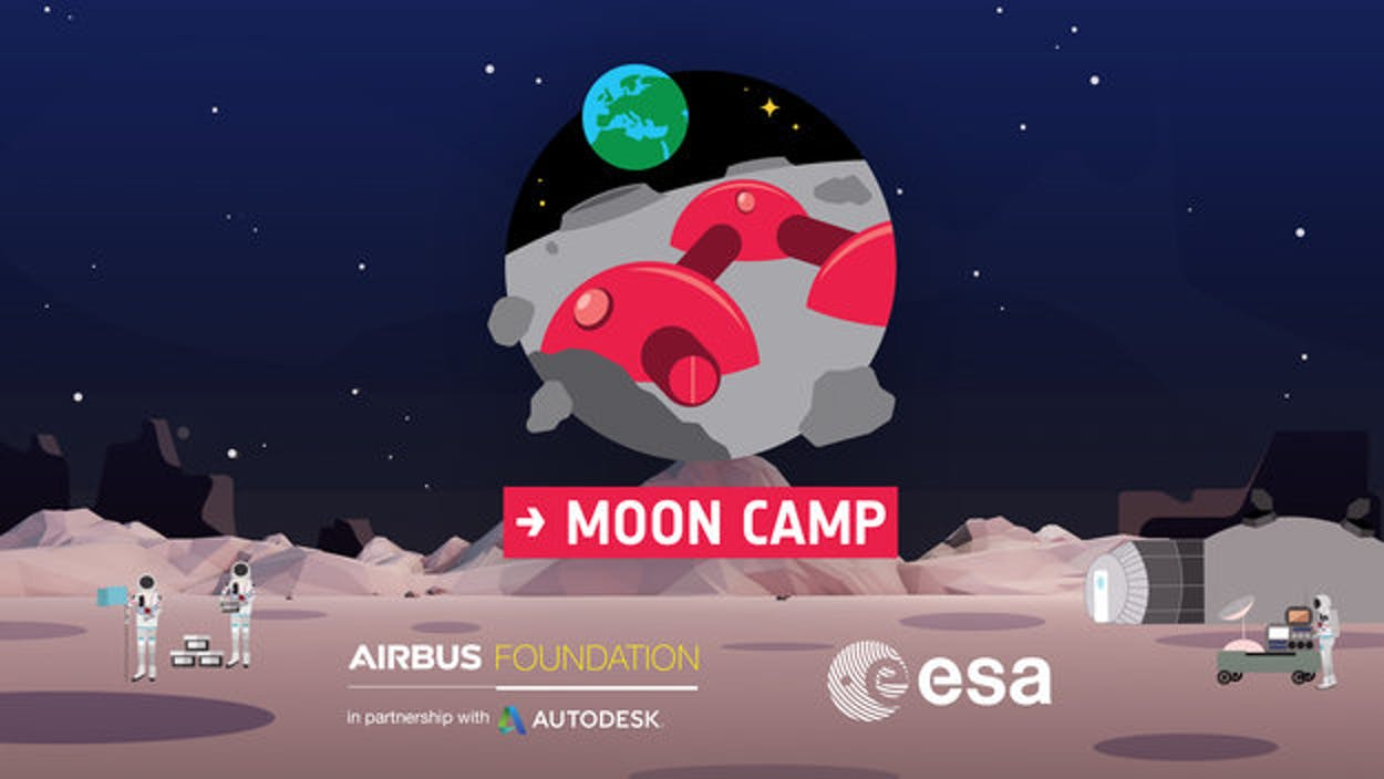 Moon Camp Poster