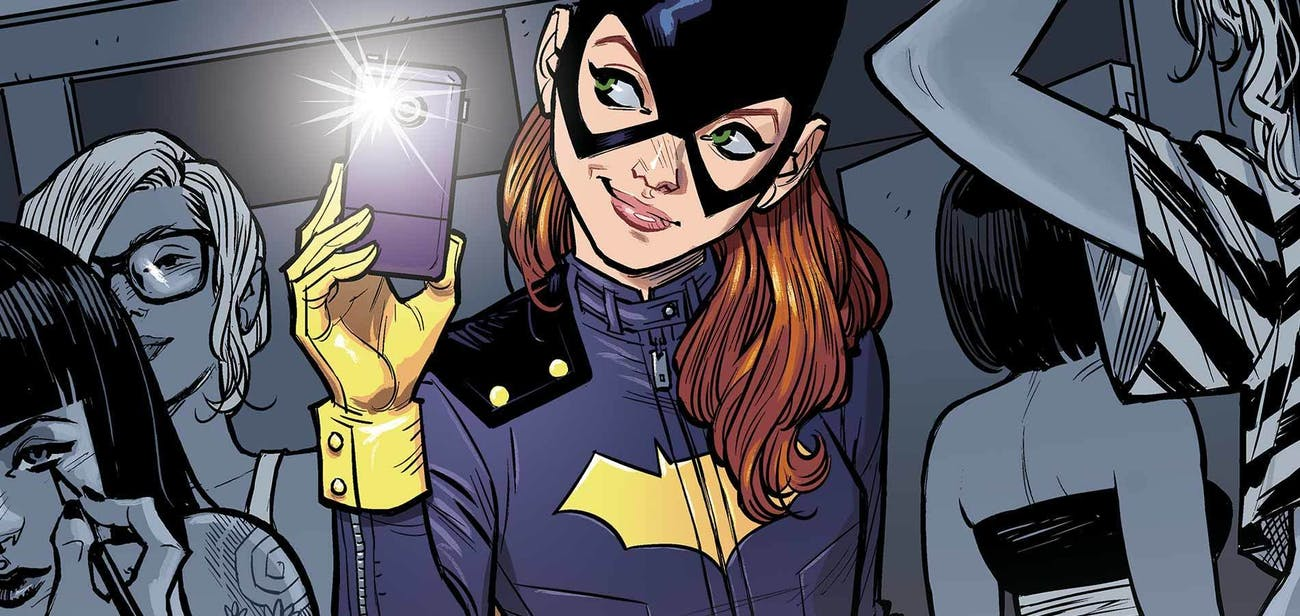 Barbara Gordon's costume has changed back, in recent comics, to the Batgirl wore in the 60s.