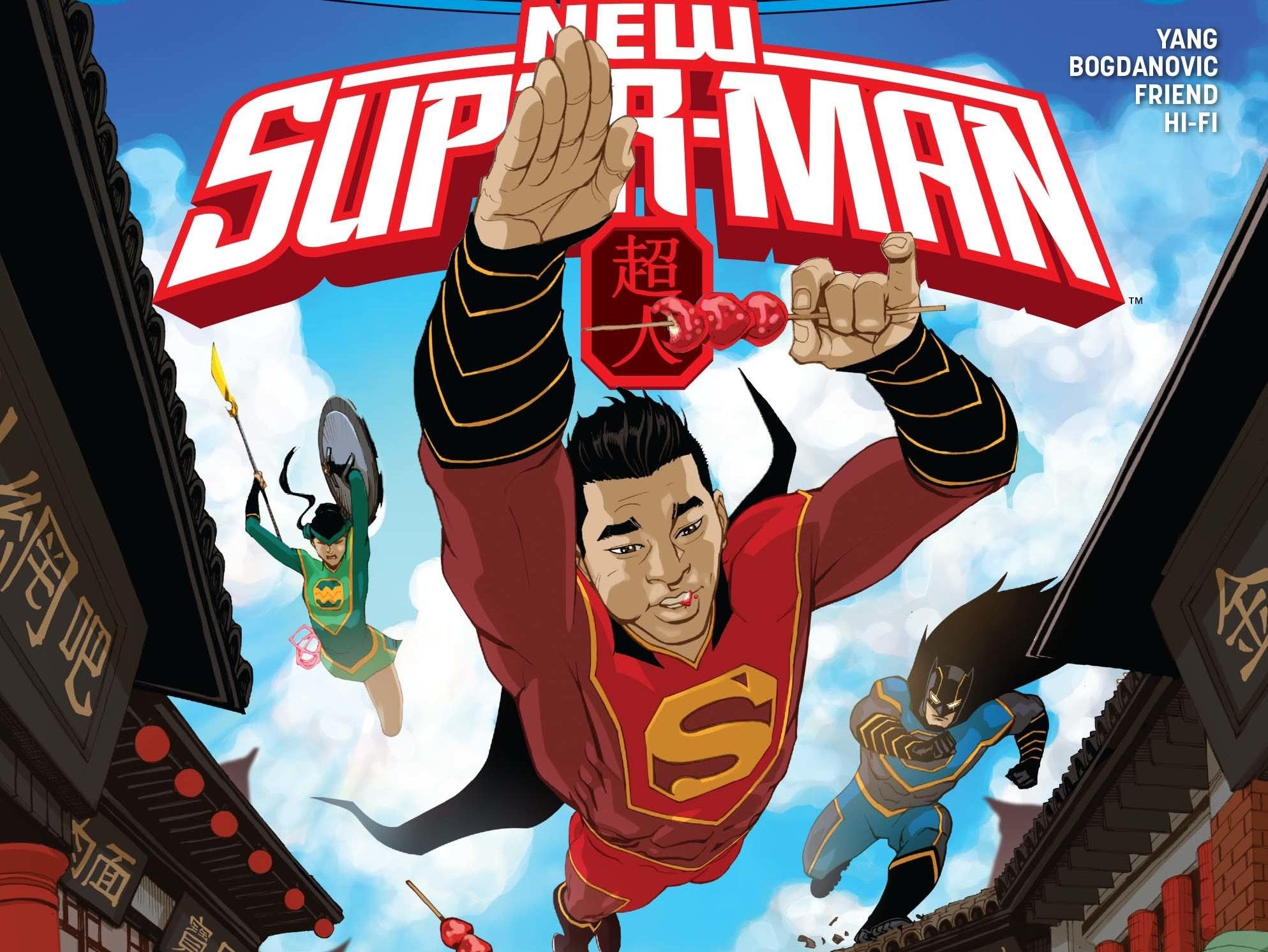 New Super-Man cover
