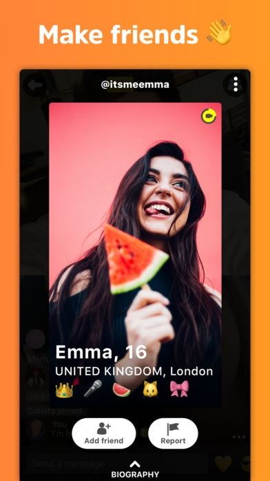 Yellow dating website