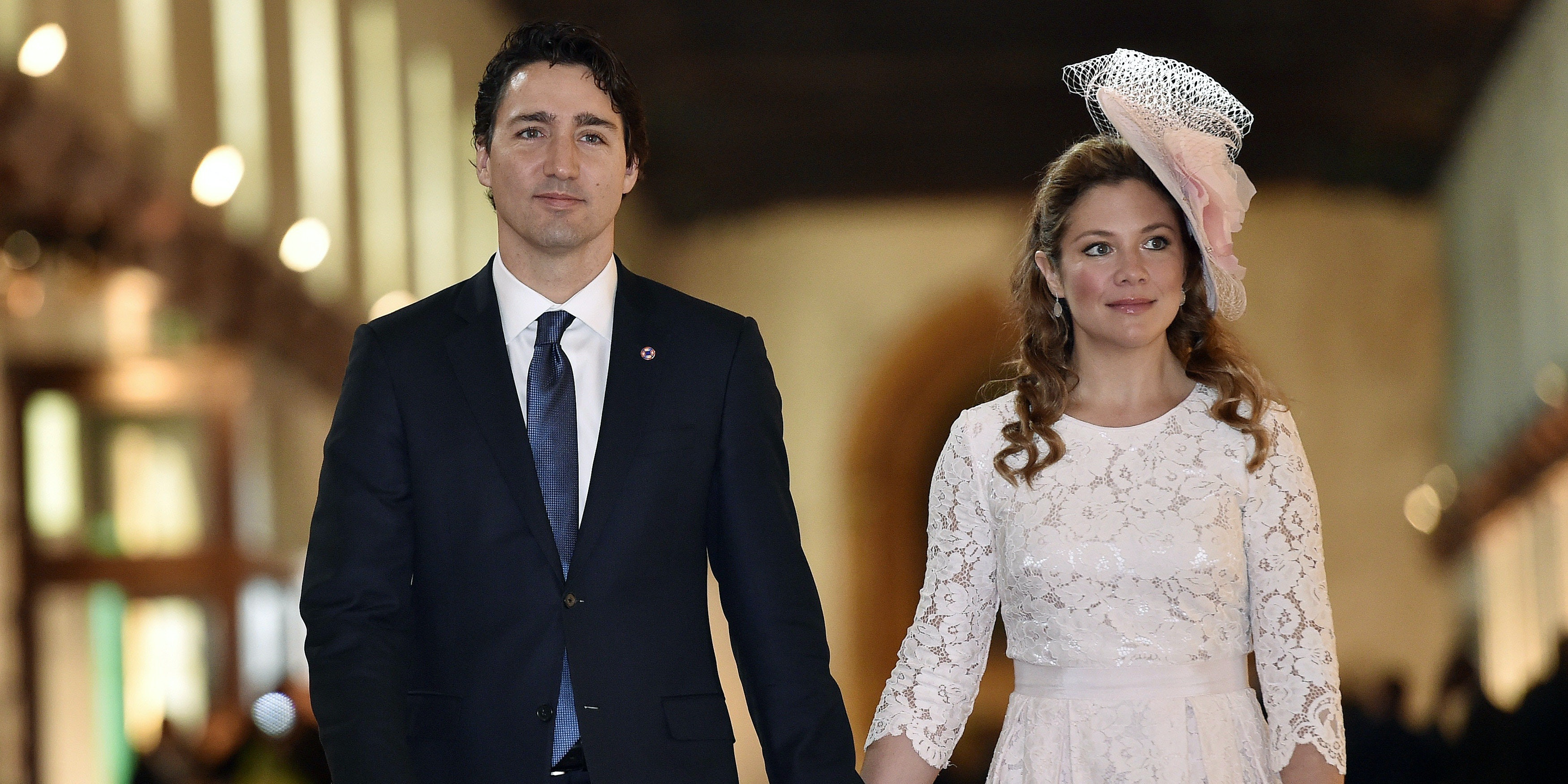 Sexy, liberal Justin Trudeau and his wife, Sophie Grégoire-Trudeau.