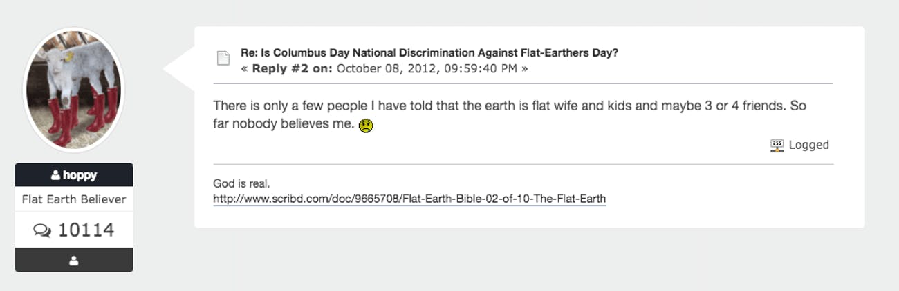Even Christopher Columbus Wouldn't Agree With Flat Earth