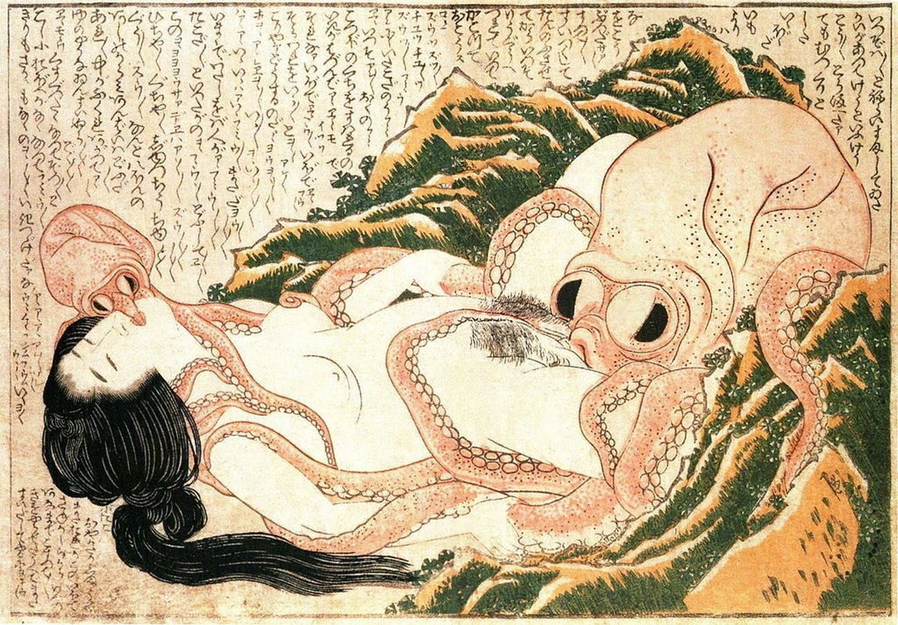 original hentai dream of the fisherman's wife