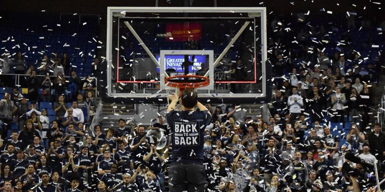 NCAA basketball Nevada