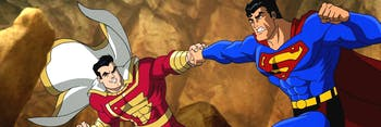 Superman vs. Captain Marvel (now known as Shazam) in Superman/Batman: Public Enemies